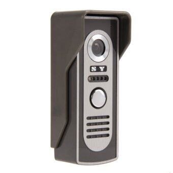 7'' Video Door Phone Doorbell Intercom Kit 1-Camera 1-Monitor(EU Plug) - intl