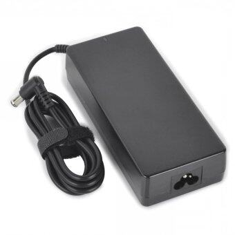 90W 19.5V 4.7A Power Adapter with AC Power Cable for Laptops Black (100~240V 6.5 x 4.4mm)