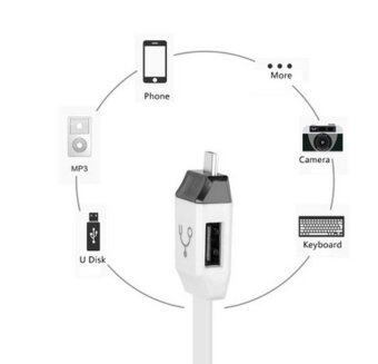 9final Smart OTG Cable 3 in 1 Micro USB OTG/Sync/Charging Line