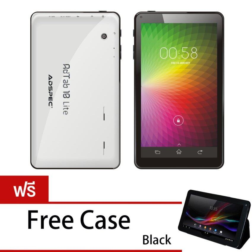 ADSPEC Quad-core 10.1 8GB WIFI รุ่น ADTAB 10 LITE (White) Free Case ...