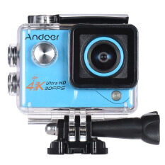 Andoer 4k 30fps 1080p 60fps Full Hd Dv 2.0in Ltps Lcd Screen Wifi Waterproof 170?wide Angle Outdoor Action Sports Camera (blue) - Intl ราคา 1,469 บาท(-32%)