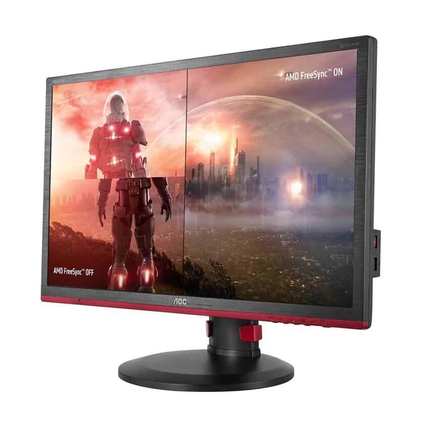 AOC จอมอนิเตอร์ รุ่น G2460PF 24 LED Flicker Free (VGA, HDMI, D-Sub & DP) ...