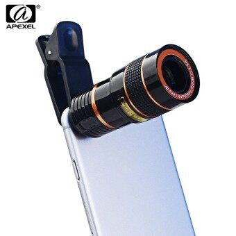 APEXEL Universal 8X Zoom External Telephoto Lens Shutterbug Necessary for iPhone Samsung Notebook PC