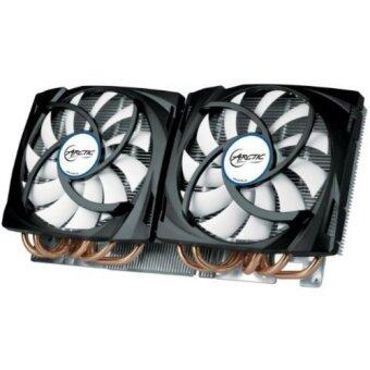 ARCTIC Accelero Twin Turbo 690 VGA Cooler for GTX 690 Dual Quiet 120mm PWM Fans Extreme Cooling - Intl