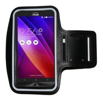 Armband สายรัดแขนใส่โทรศัพท์ออกกำลังกาย asus zenfone max (5.5นิ้ว สีดำ)