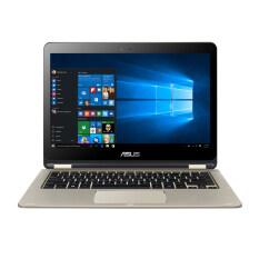 ASUS แล็ปท็อป รุ่น TP301UA-DW058T i3-6100U/4G/500G/Windows 10/touch (สีทอง)