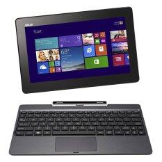 Asus Transformer T100TA-DK025H Z3775 1.46GHz/2GB/500GB+32GB SSD/Win8.1(Grey) Free Powerbank Cooler master 5600mAh + Kington USB 16 gb + Logitech wireless mouse M185 + McAfee Anti-Virus 3 years Internet Security E card + Soft case