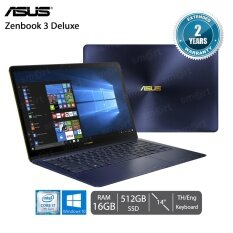 "Asus Zenbook 3 Deluxe UX490UA-BE012T i7-7500U/16GB/512GB SSD/14""/Win10 (Royal Blue)"