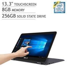 "ASUS ZenBook Flip UX360CA 2-in-1 - 13.3"" Touchscreen QHD+ (3200x1800) | Intel Core i5-7Y54 | 256GB SSD | 8GB RAM | Bluetooth | Windows 10 - Dark Grey - intl"