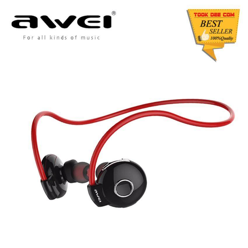 AWEI A845BL Bluetooth SmartSports Headphones (แดง) image