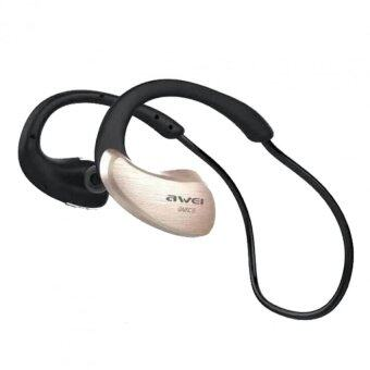 AWEI Wireless WaterProof Stereo Headset A885BL IPX4 Level (ทอง)