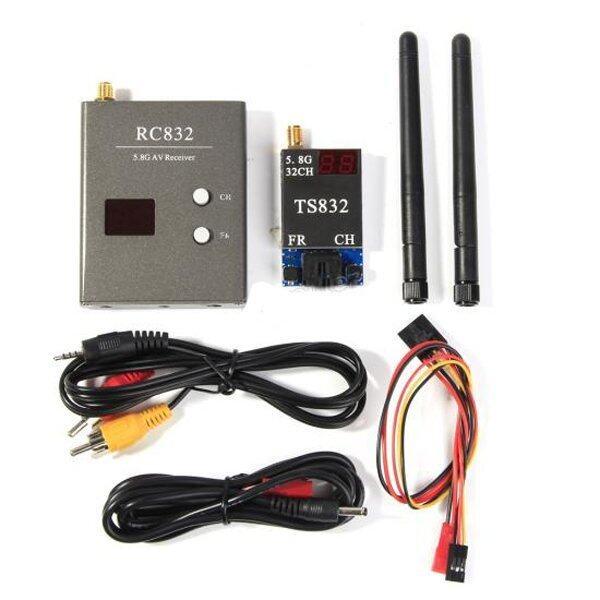 Babybear ชุดอุปกรณ์รับส่งสัญญาณภาพไร้สาย WIFI 5.8 Ghz 600 mw Boscam (สีดำ)