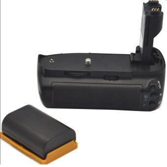 Battery Grip Holder for Canon EOS 7D BG-E7 DSLR + LP-E6 Battery