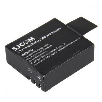 BATTERY SJCAM 3.7V Li-ion Battery ความจุ 900mAh 3.3Wh รุ่น SJ-4000,5000,5000Plus (สีดำ)