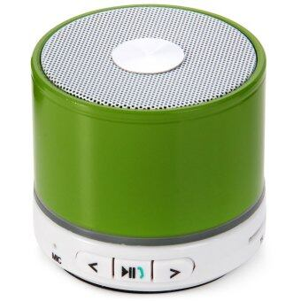 BK-S11 Mini Super Bass Wireless Portable Bluetooth Speaker with Hands-free Calls and Ntelligent Voice Function for iPhone 6S / 6S Plus / iPad Pro (GREEN)