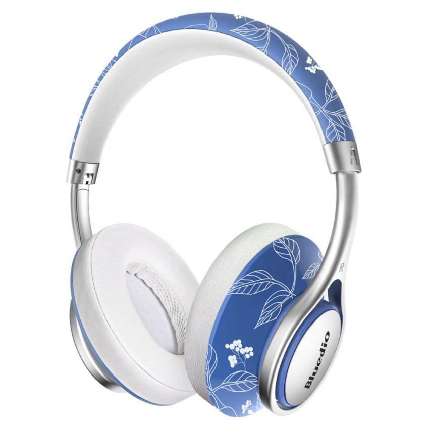 Bluedio A Lightweight Stylish Stereo Wireless Bluetooth Headphones with Mic (China) - intl