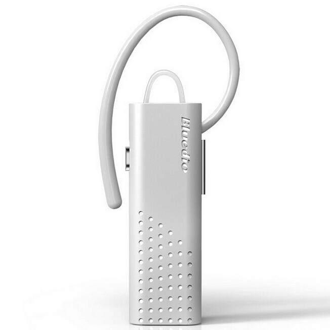 Bluedio DF7 Smart Touch Wireless Bluetooth 4.1 Headset Earphone Stereo Headset Sport Earphone Headphones (White)
