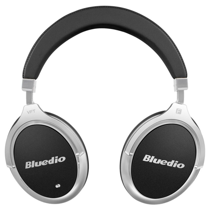 Bluedio F2 (Faith) Active Noise Cancelling Over-ear Business Wireless Bluetooth Headphones with Mic (Black) - intl