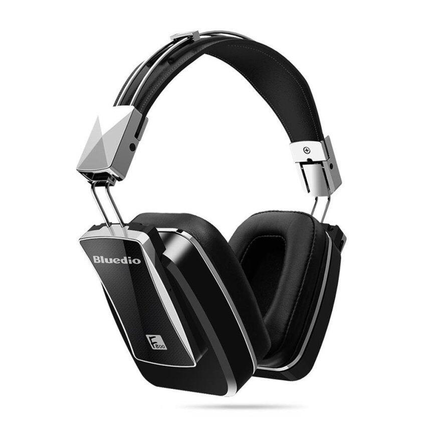Bluedio F800 Bluetooth 4.1 Headphone Wireless Foldable Active Noise Cancelling Earphone Over Ear Headphones Bass Metal Headset - intl