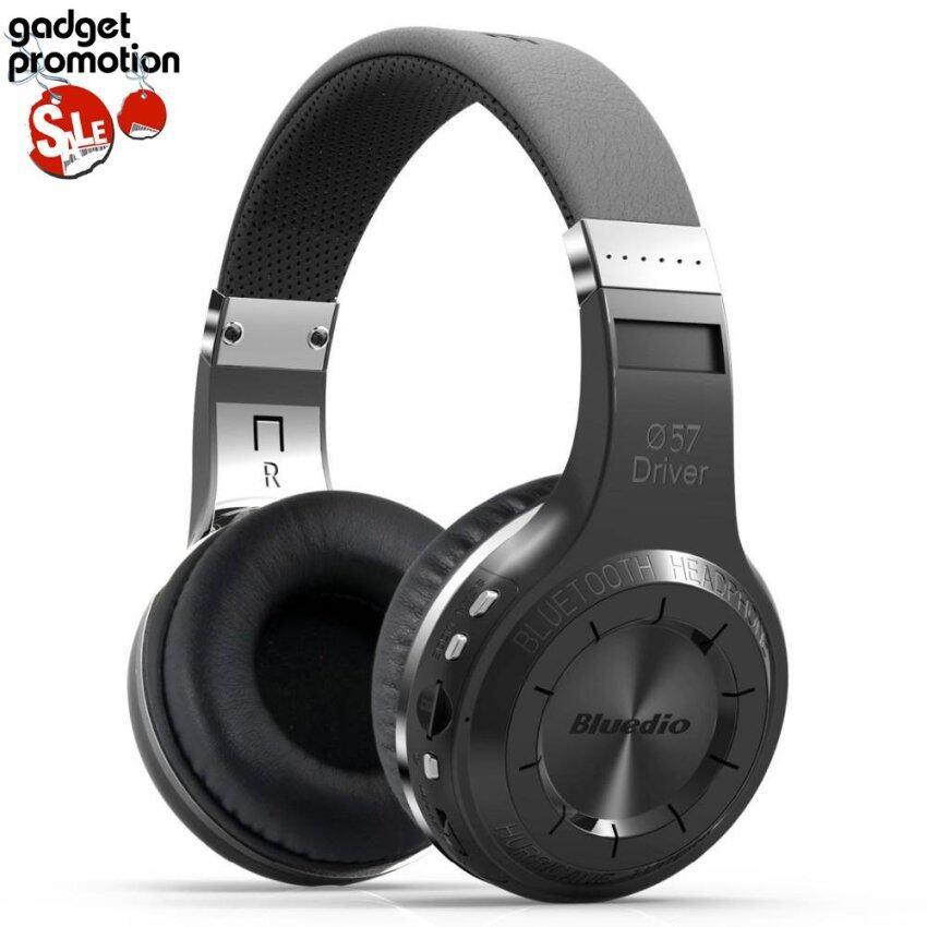 Bluedio หูฟังบลูธูท รุ่น H+ (Plus) Turbine (Black) ประกันศูนย์ไทย
