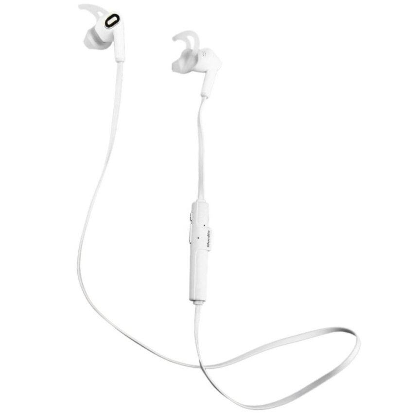 Bluedio M2 In-ear Bluetooth 4.1 Wireless Headset Stereo Noise Canceling Sport Earphone with Mic for Mobile Phone(White) - intl