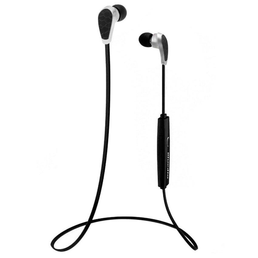 Bluedio N2 Lightest Sports Bluetooth Hands Free Earphone Stereo In-Ear Headphone Volume Control Song Switch with Mic for Tablet PC Smartphones - intl