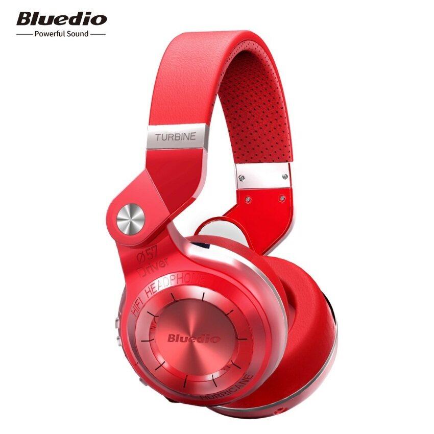 Bluedio T2S Bluetooth Headphones (Red)