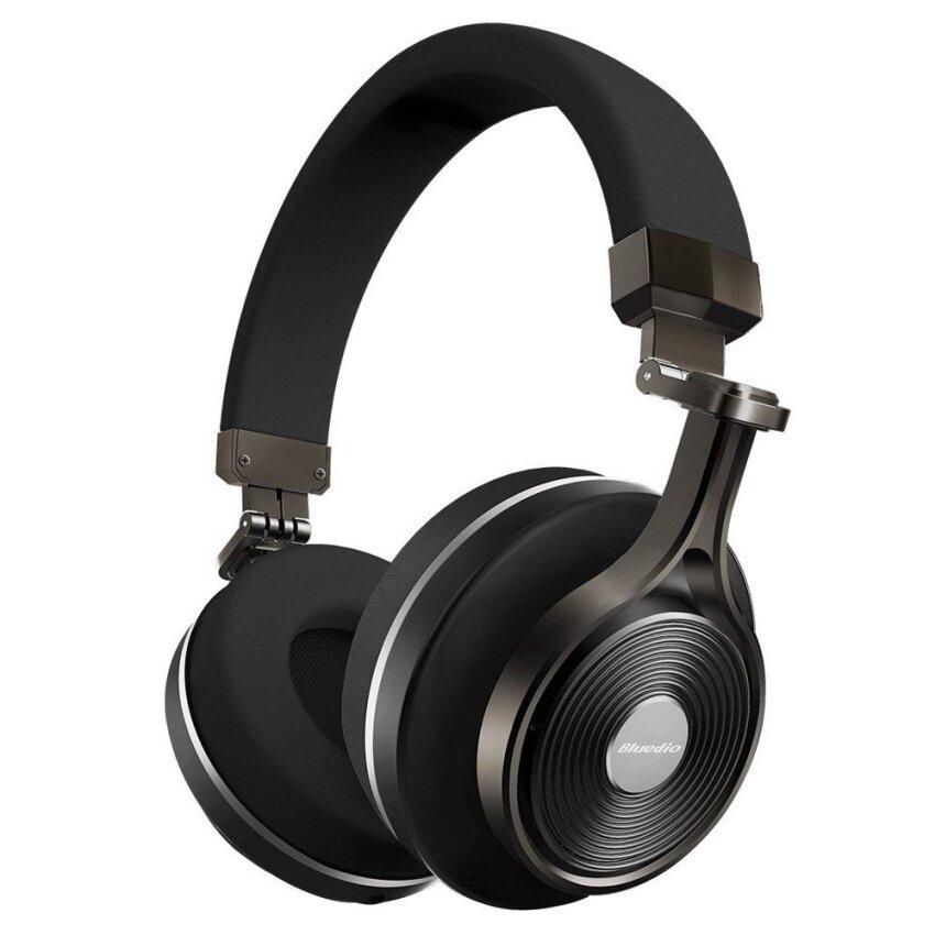 BLUEDIO T3 Plus Bluetooth 4.1 3D Stereo Headset (Black) - intl