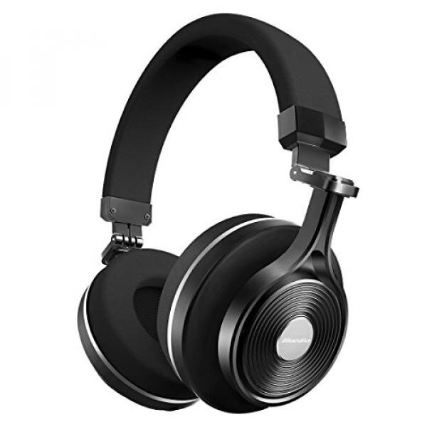 Bluedio T3 Plus (Turbine 3rd) Wireless Bluetooth 4.1 Stereo Headphones with Mic/Micro SD Card Slot (Black) - intl