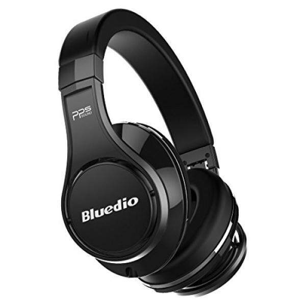 Bluedio U (UFO) PPS 8 Drivers Over-ear Bluetooth Wireless Headphone with Mic(Black)