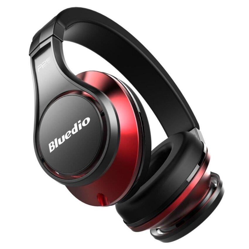 Bluedio UFO Bluetooth Headphones Wireless Headset (Black/Red)