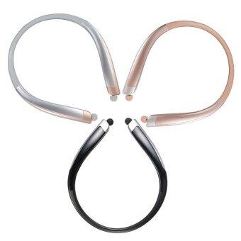 หูฟังไร้สาย Bluetooth HBS-1100 CSR4.1 หูฟังชนิดใส่ในหูที่มีคุณภาพสูง (Silver) - intl