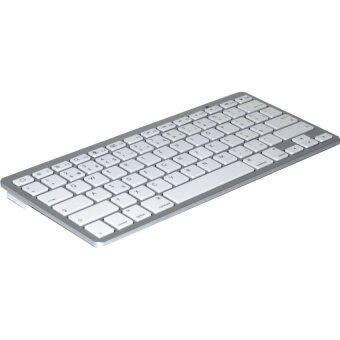 BlueTooth Keyboard แป้นพิมพ์ไทย รุ่น BK 3001 (White)