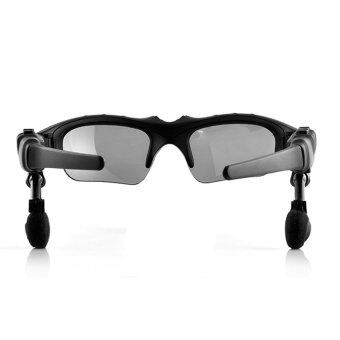 Bluetooth + MP3 Player Sunglasses (Black) - Intl