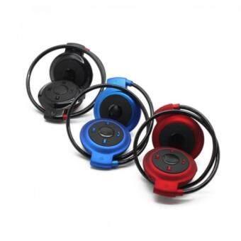 หูฟังไร้สาย Bluetooth Stereo Headset mini รุ่น 503 ( สีน้ำเงิน )
