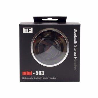 หูฟังไร้สาย Bluetooth Stereo Headset Mini 503-TF สีดำ