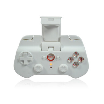 Bluetooth Wireless Game Controller Gamepad Joystick for iPhone / iPod / iPad / Android Phone / Tablet PC (White)