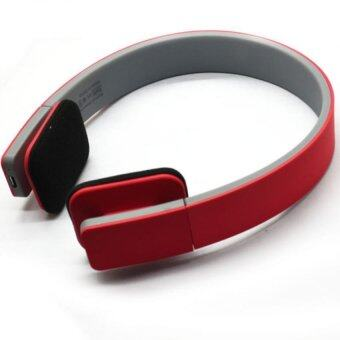 Bluetooth Wireless Stereo Headphones, Bluetooth Headsets,Red