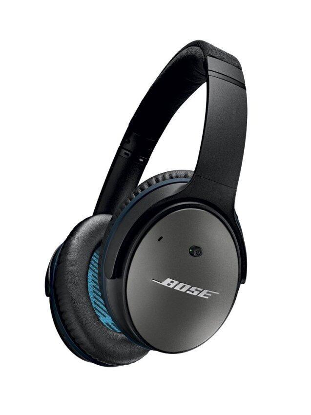 BOSE หูฟังตัดเสียงรบกวนแบบครอบหู สำหรับอุปกรณ์ Android รุ่น QuietComfort 25 - สี Black