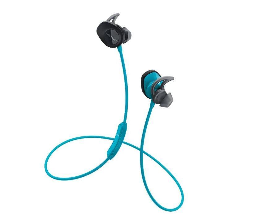 BOSE หูฟังไร้สายแบบเสียบหู รุ่น SoundSport Wireless - สี Aqua