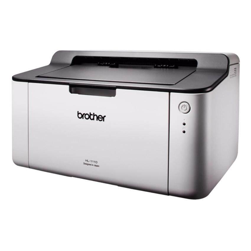 เครื่องพิมพ์เลเซอร์ Brother HL-1110 มีหมึกให้พร้อมใช้งาน
