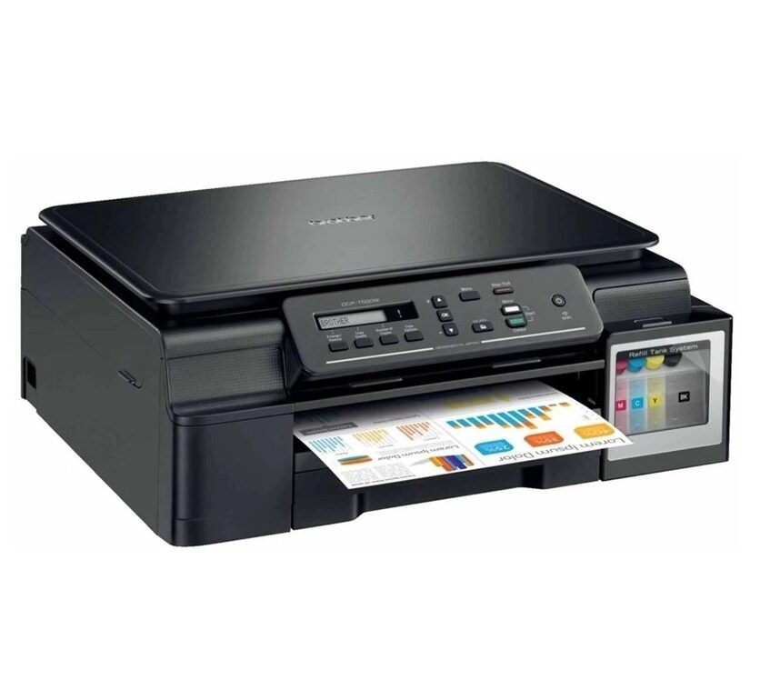 BROTHER PRINTER DCP-T500W + INK TANK