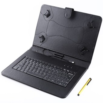 Built-in Wire Control Keyboard Case for Android / Windows Tablet 10 Inch