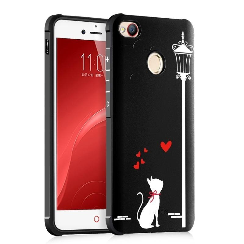 BYT Silicon Debossed Printing Cover Case for ZTE Nubia Z11 Mini S - intl ...