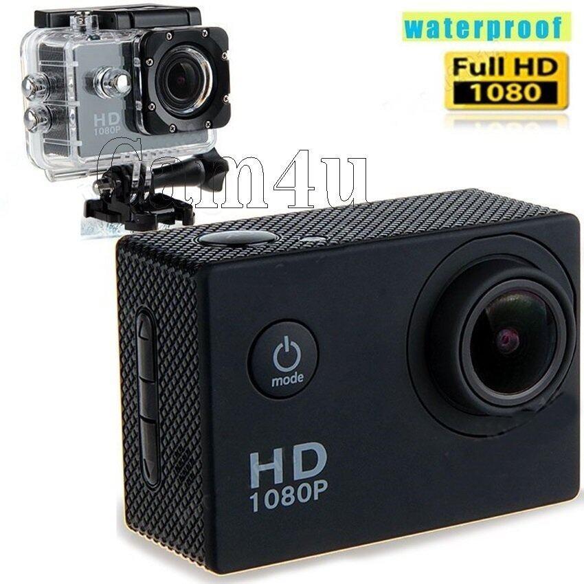 Cam4u Action Camcorder กล้องกันน้ำ H.264 Full HD 1080p(สีดำ) ...