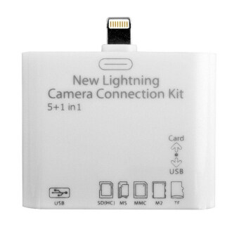 Camera Connection Kit USB 2.0 5 in 1 Camera Connection Kit MS/ M2/TF SD Card Reader