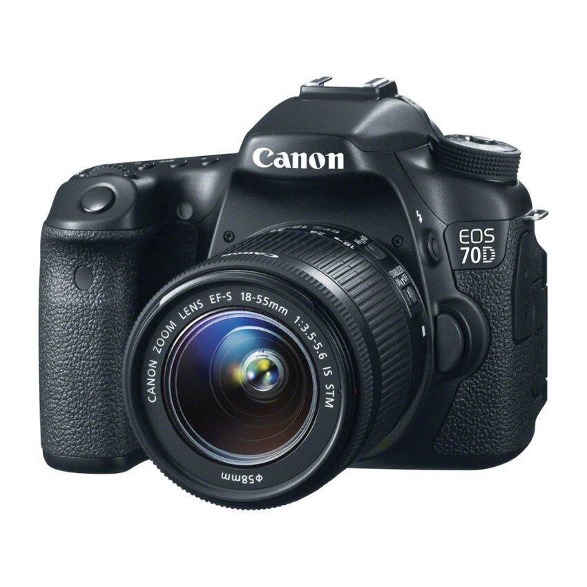Canon DSLR EOS 70D Lens 18-55IS (Black) (ประกันศูนย์)