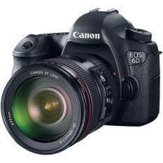 Canon EOS 6D 20.2 MP + Kit 24-105mm F4L IS USM Japanese Version (Black)