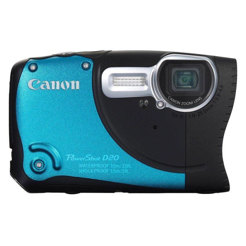 Canon PowerShot D20 - Blue ...