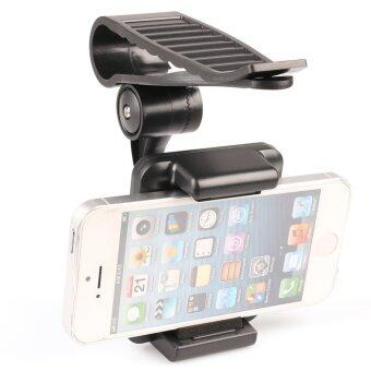 Car Sun Visor Holder Mount Stand for iPhone 6 5S 5C 5 Samsung Galaxy S5 S4 Note2 - Intl